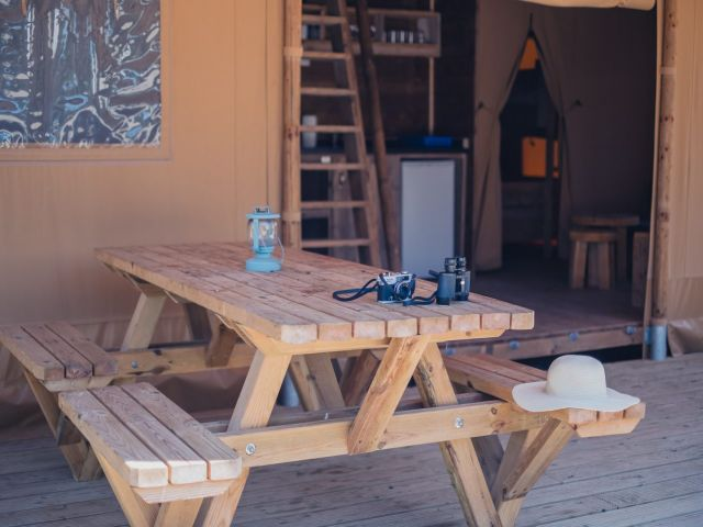 Glamping cottage caballo de mar